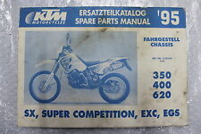 KTM 620 LC4 Catalogue de Pièces rechange Katalog Spare Parts Manual #R5530