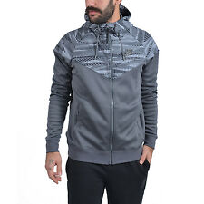 Nike Windrunner Max Air Hybrid Men Hoodies Grey Size L 805138 021