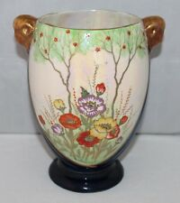 Crown Devon Fielding's - Beautiful Art Deco Lustre Vase, design 3310 - 1930's