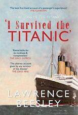 LOSS OF THE SS TITANIC, THE, .. , .. , book, Beesley, Lawrence, Very Good, 2012-