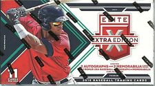 2016 Panini Elite Extra Edition Baseball SEALED RETAIL BOX (5 Auto/Mem. per box)