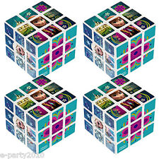 FROZEN MINI PUZZLE CUBES (4) ~ Princess Birthday Party Supplies Favors Disney