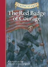 Classic Starts: The Red Badge of Courage (Classic Starts Series)-ExLibrary