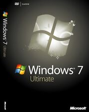 WINDOWS 7 ULTIMATE SP1 32 / 64 bit MULTILANGUAGE digital