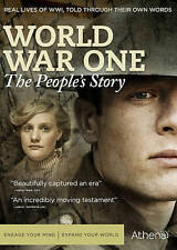 World War One: The Peoples Story (DVD, 2015, 2-Disc Set)