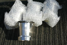 UNIVERSAL FIT BILLET ALUMINUM 54MM -  55mm Velocity Stack Polished    SOLD EACH