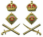 British English UK Officer General Set Uniform Rank Crown Pip Crown Army War