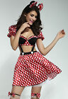 MICKEY MINNIE MINI MOUSE DISNEY FAIRY TALE FANCY DRESS HALLOWEEN COSTUME 8 10 12