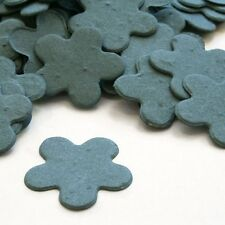 French Blue Five Petal Plantable Wildflower Seed Recycled Paper Confetti