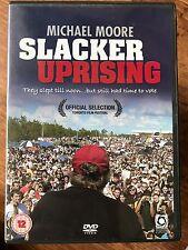 SLACKER UPRISING ~ 2007 Michael Moore Political Documentary   UK DVD