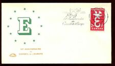 Luxembourg 1959 Council Of Europe 10th Anniv, Cover #C6136