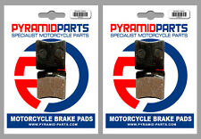 Cagiva WMX 500 Cross 1987 Front & Rear Brake Pads Full Set (2 Pairs)