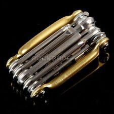 RockBros Vélo Outil Multi Outi Mini réparation Outil de poche pliant 10 en 1