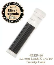 Retro 51 #REF90-L / Twenty Pack of 1.1mm Lead Refills For Elite Series Pencils