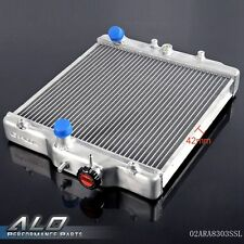 UK For HONDA CIVIC D15/D16 EG / EK 92-00 2Row 42MM Aluminum Radiator In/Out 28mm