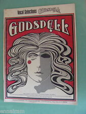 Godspell Vocal Selections 1971 Stephen Schwartz Day by Day Light of the World +