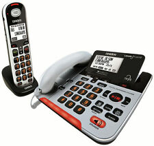 UNIDEN SSE37+1 VISUAL & HEARING IMPAIRED CORDLESS DIGITAL PHONE SYSTEM INTERCOM