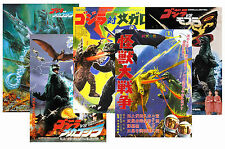GODZILLA - SET OF 5 - A4 POSTER PRINTS # 3