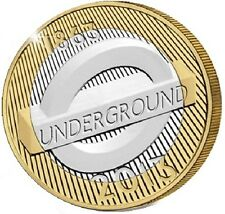 2013 £2 LONDON UNDERGROUND ROUNDEL 150TH TWO POUND COIN HUNT 26/32 RARE 2 e