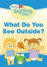 What Do You See Outside? (Baby Signing Time!)-ExLibrary