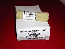 Elsa Williams Needlepoint Tapestry Yarn - PALE GREEN - 12 - 40 yard skeins WOOL