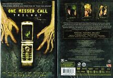 One Missed Call Trilogy 1 2 3 New 3 DVD Box Set