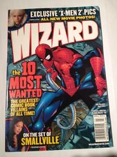 Wizard # 138 Spiderman Cover