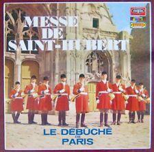 Débuché de Paris 33 tours  Messe de Saint-Hubert