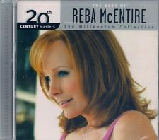 CD-REBA McENTIRE-THE BEST OF-MILLENNIUM-12 SONGS-STILL FACTORY SEALED-BRAND NEW