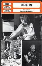 FICHE CINEMA : CUL DE SAC - Pleasence,Dorléac,Polanski - mod.A - 1966