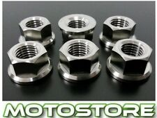TITANIUM SPROCKET NUTS SUZUKI GSX 1300 BK B-KING 2007-2012