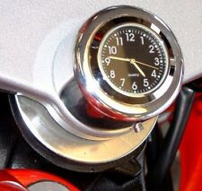 New British Made Honda Yamaha Triumph Etc. Motorcycle Stem Nut Clock