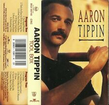 Tool Box by Aaron Tippin (Cassette, Oct-1995, RCA) Used VG