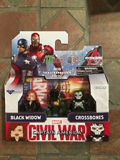 Marvel Minimates BLACK WIDOW & CROSSBONES TRU Civil War Movie Captain America