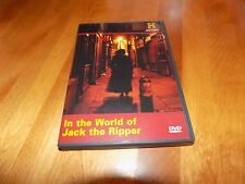 IN THE WORLD OF JACK THE RIPPER London Serial Killer History Channel RARE DVD