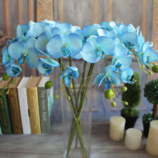 Artificial Flower Butterfly Orchid Silk Party Wedding Decor Phalaenopsis Bouquet
