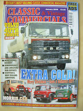 CLASSIC & VINTAGE COMMERCIALS MAGAZINE JANUARY 2008 THE END OF THE ERF MARQUE