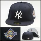 New Era New York Yankees Fitted Hat 1996 World Series Side Patch Derek Jeter MLB