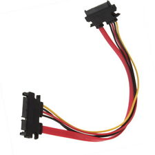 7+15 Pin Serial SATA Data power combo extension Cable DG