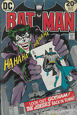 Batman BATMAN and THE JOKER  Nº 251 - SIGNED by NEAL ADMAS!