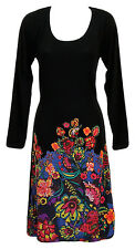 Desigual Women's Martina Dress Jumper M Black New