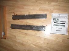 NEW Genuine Hyundai Matrix Door Sill Trims Kick Scuff Plates E845017000