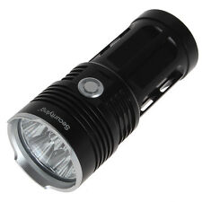 Super Bright Securitylng 7 x CREE XM-L2 LED Waterproof 8500LM Flashlight Torch