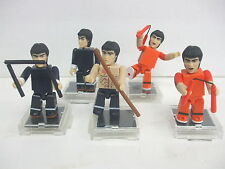 Bruce Lee Medicom Kubrick Loose Figures and Accessories - Very Good Condition
