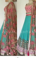 Indian Bollywood Ethnic Designer wedding bridal lengha,