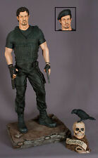 EXCLUSIVE HCG STALLONE EXPENDABLES BARNEY ROSS REPLICA STATUE FIGURE BUST 1/4