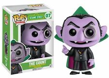 "SESAME STREET THE COUNT 3.75"" POP VINYL FIGURE NEW FUNKO"