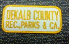 DEKALB COUNTY REC, PARKS & CA. Iron or Sew-On Patch