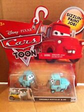 "DISNEY CARS TOON DIECAST - ""Orderly Pittys #1 & #2"" - Combined Postage"