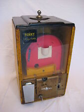 Vintage Victor 1 cent Basketball Gumball Vending Machine